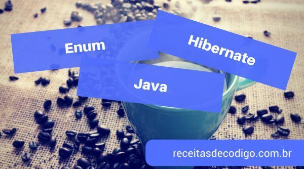 Enum Java Hibernate