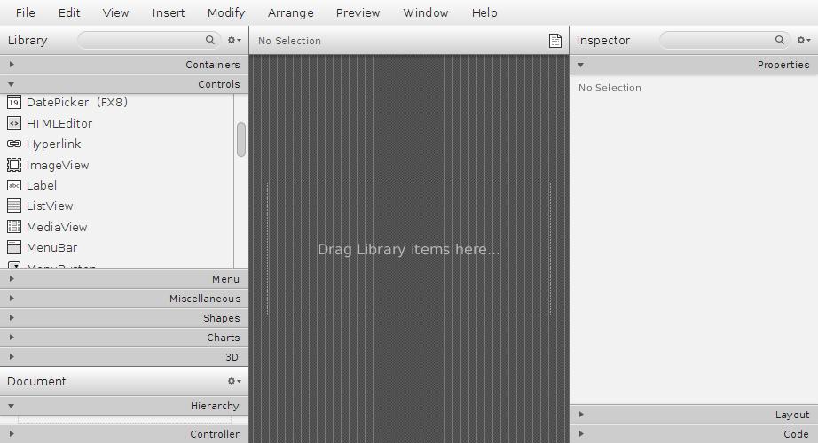 Como baixar e instalar o JavaFX Scene Builder